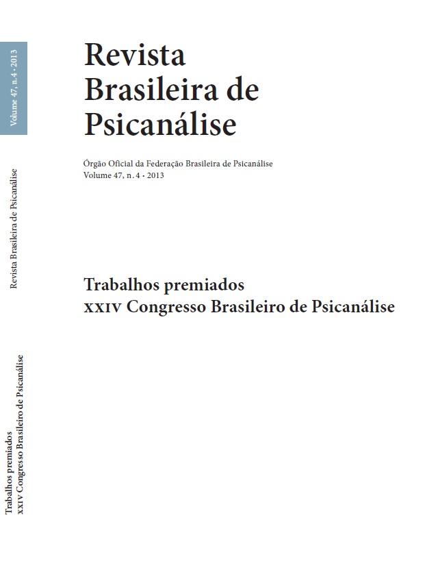 Trabalhos premiados XXIV Congresso Brasileiro de Psicanálise