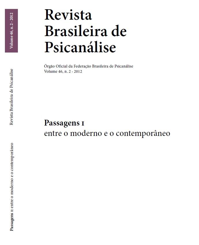 Passagens I – entre o moderno e o contemporâneo