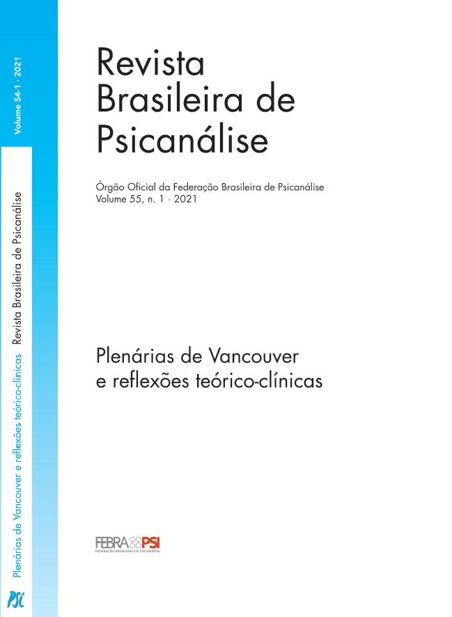 Plenárias de Vancouver e reflexões teórico-clínicas